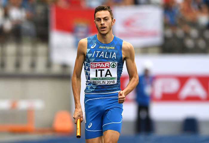 Edoardo Scotti. Velocista