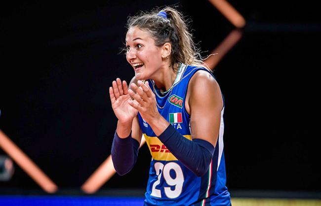 Sofia D'Odorico pallavolista