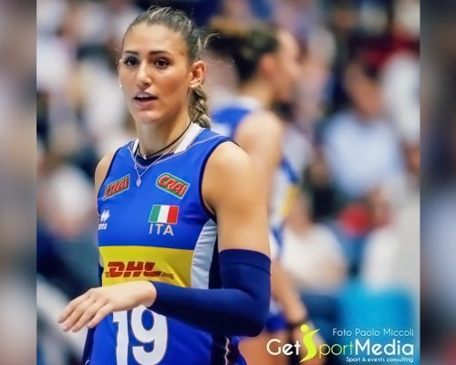 Camilla Mingardi pallavolista